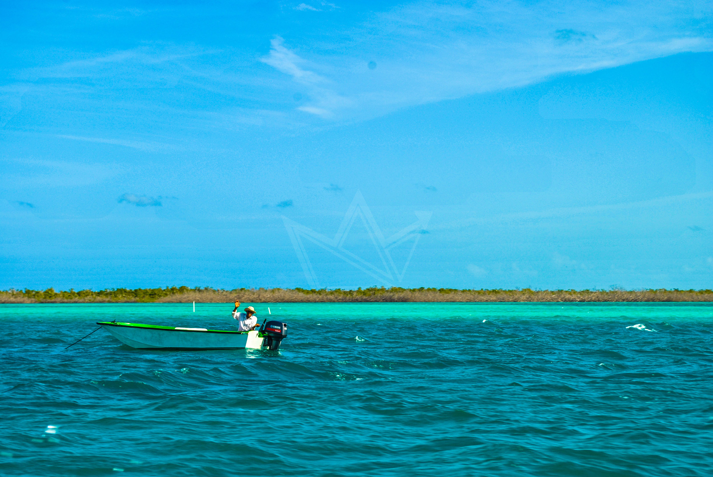 Fisherwoman in the Bight of Acklins