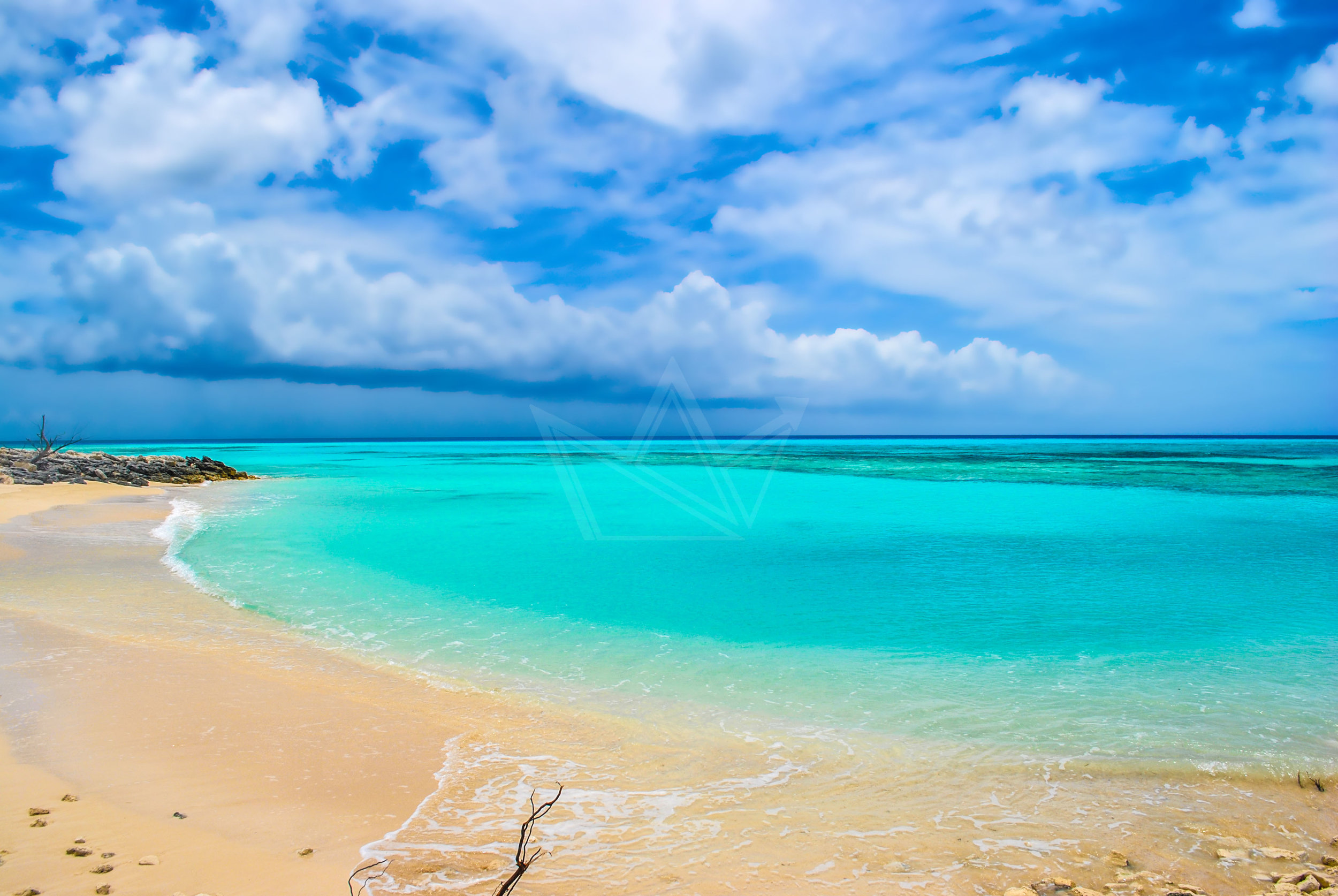 Beach in Pitts Town Point, Crooked Island