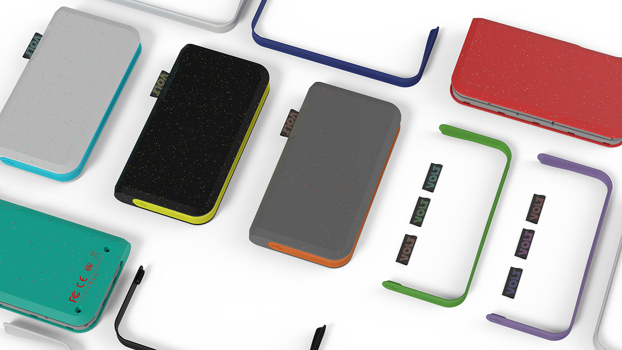 CUSTOMIZABLE:  Interchangeable shells, skins, and tags empower the user to create a device that is truly unique.