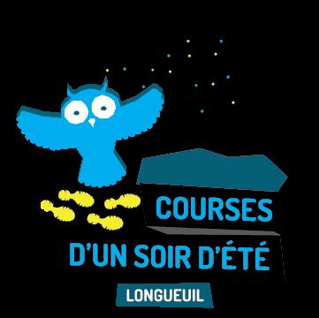 Logo - Course d'un soir d'été de Longueuil
