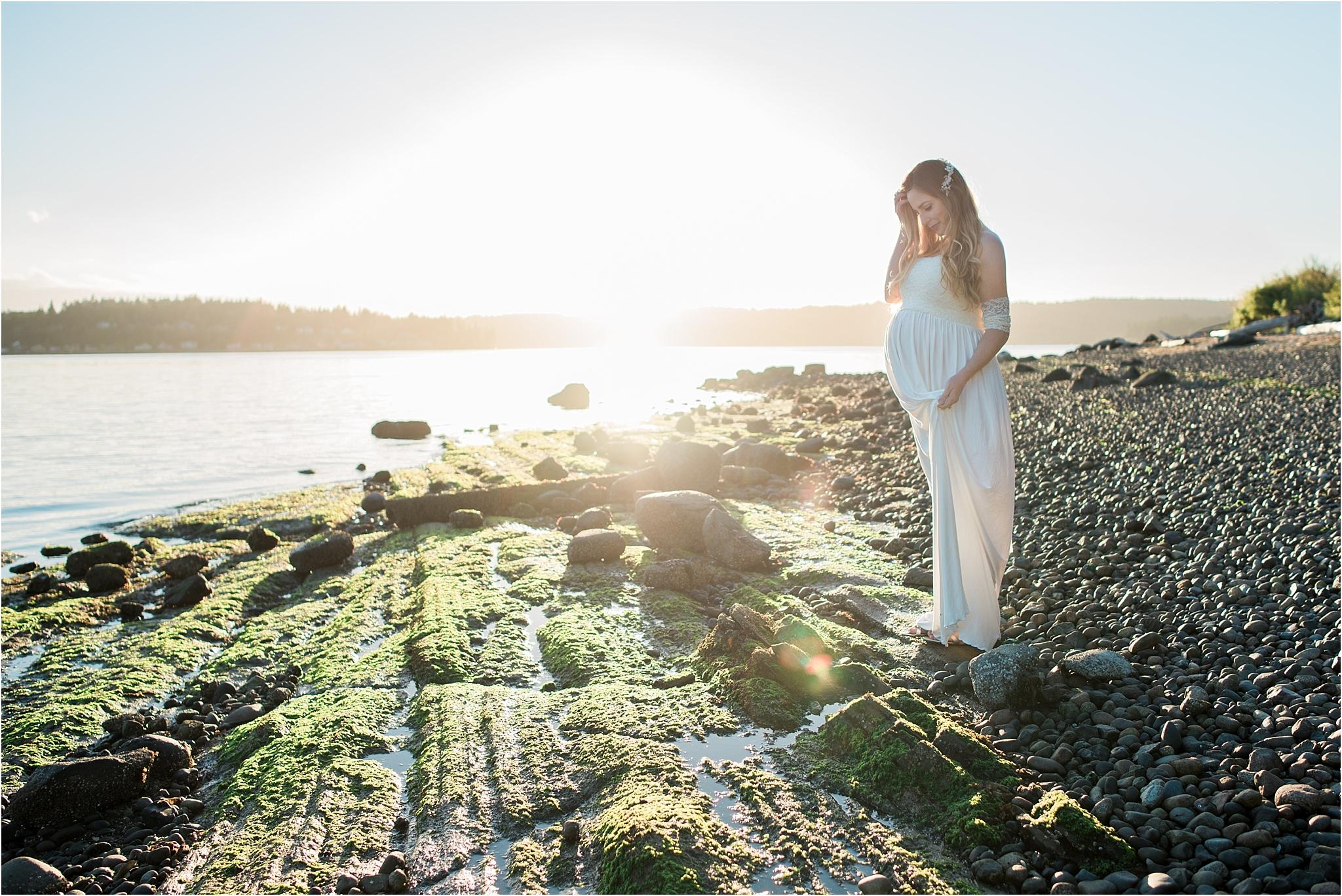Bainbridge Island Maternity Photos | Janet Lin Photography