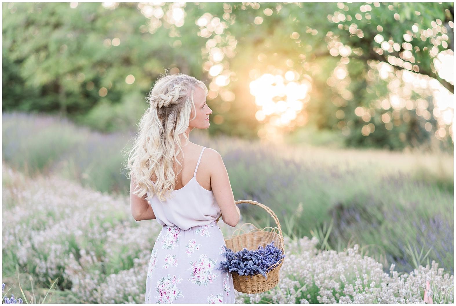 Lavender Farm Engagement   Janet Lin Photography