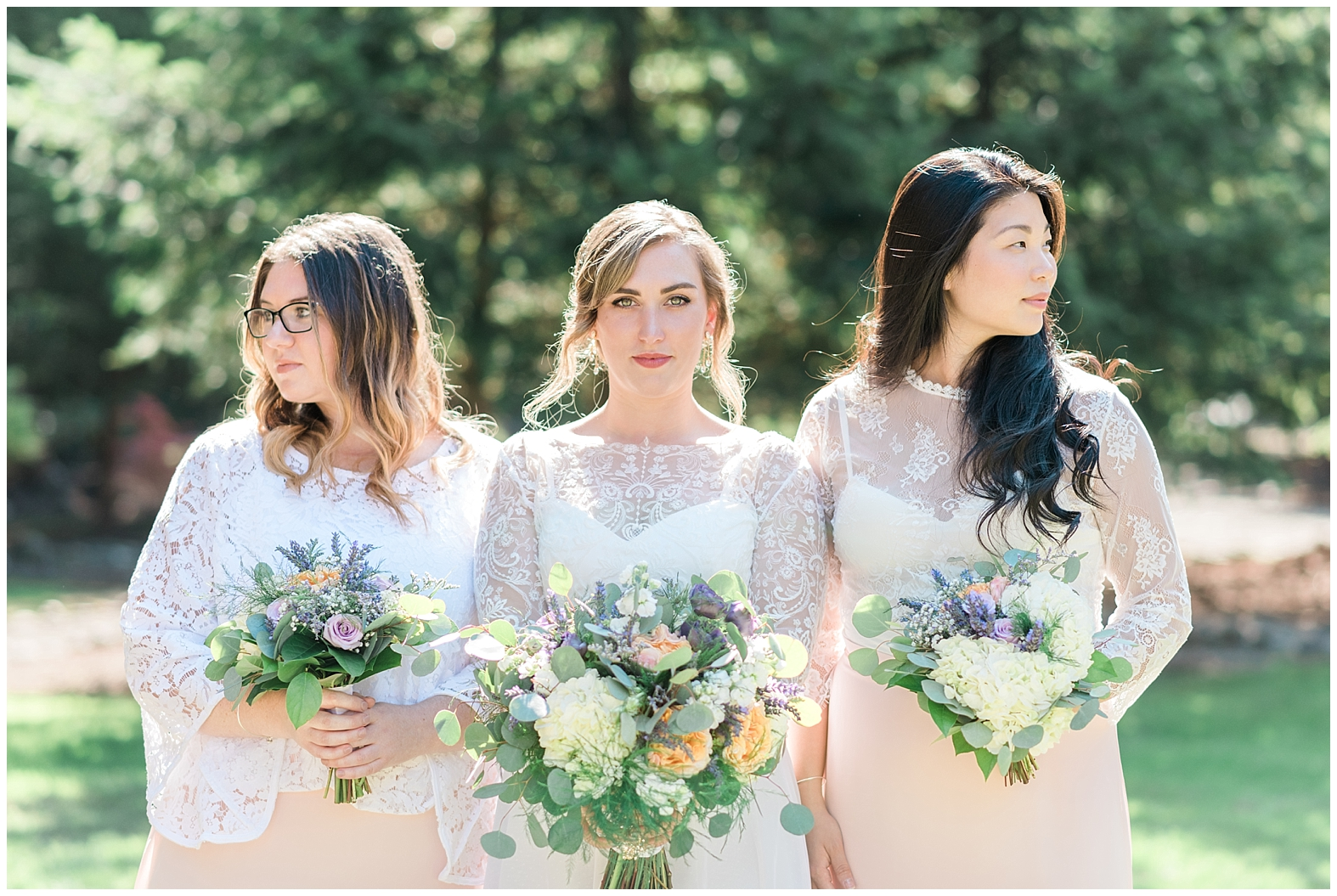 Enchanting Forest Wedding   Janet Lin Photography