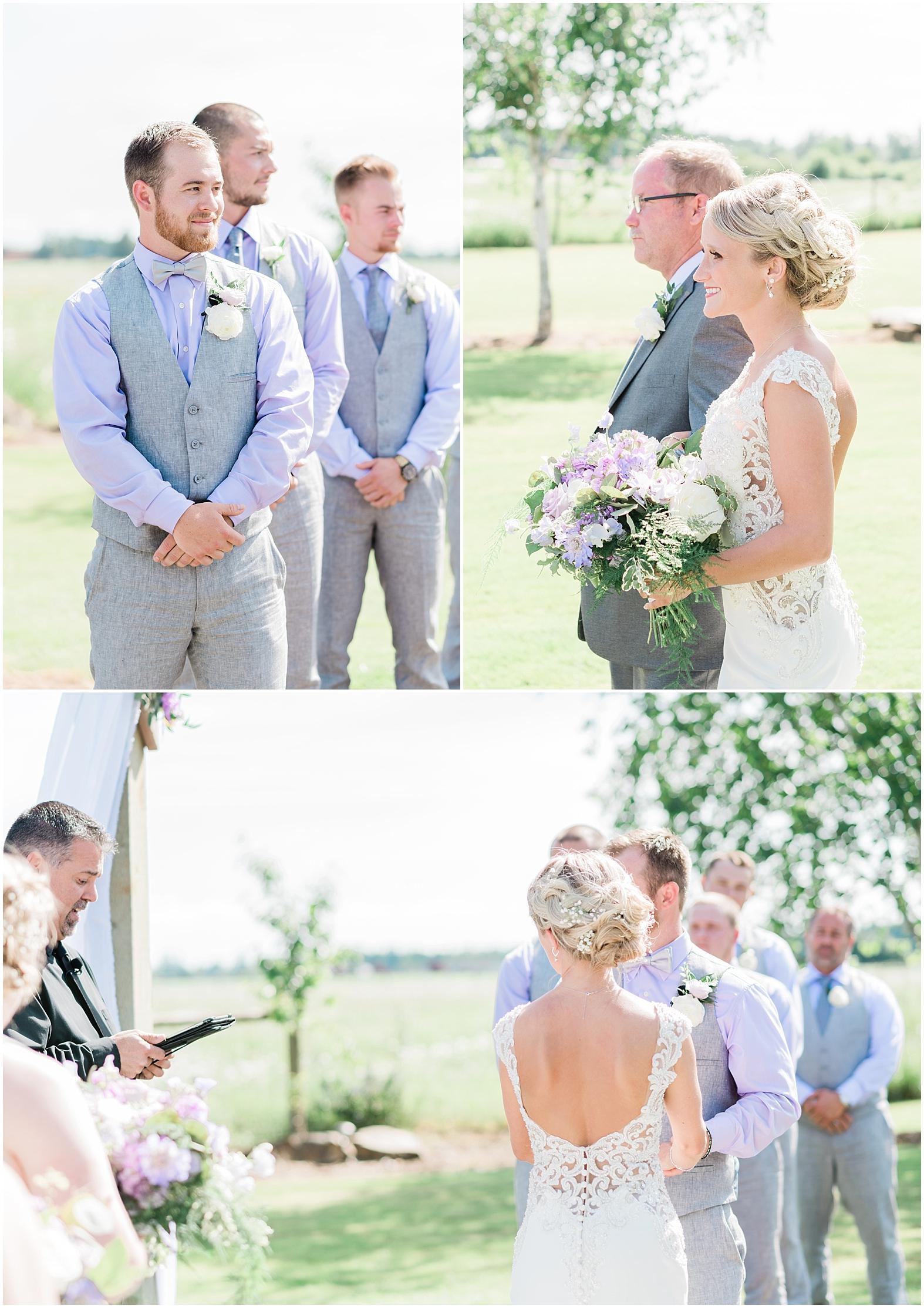 Lavender & Sage Wedding | Janet Lin Photography
