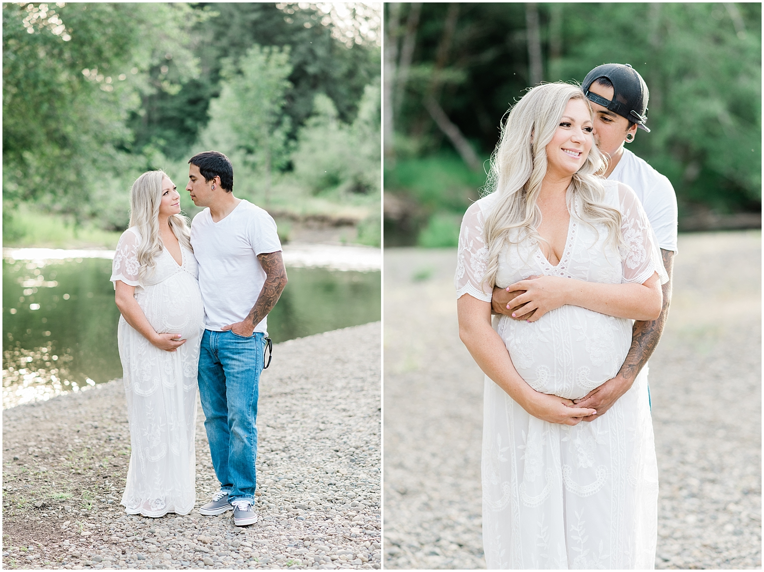 Wildflower Maternity Photography | Janet Lin Photography