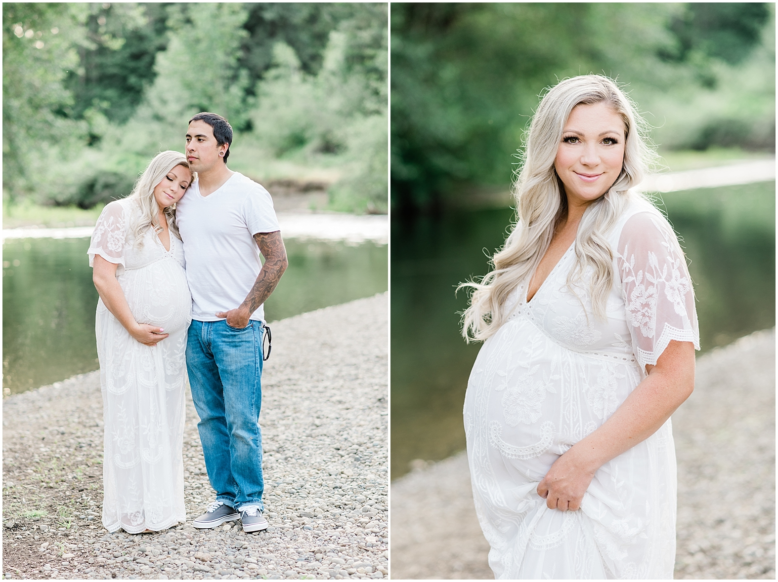 Wildflower Maternity Session | Janet Lin Photography