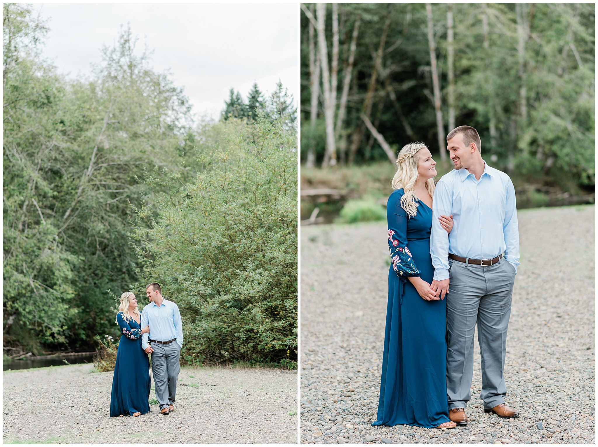 PNW Engagement Session | Janet Lin Photography