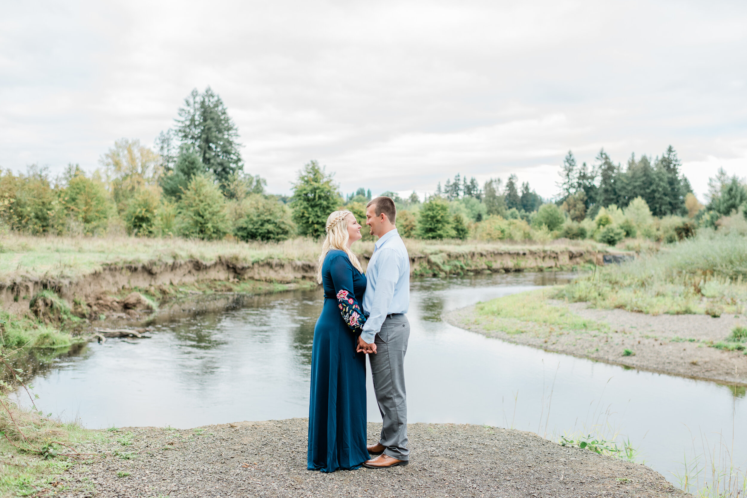 PNW Engagement Photos | Janet Lin Photography