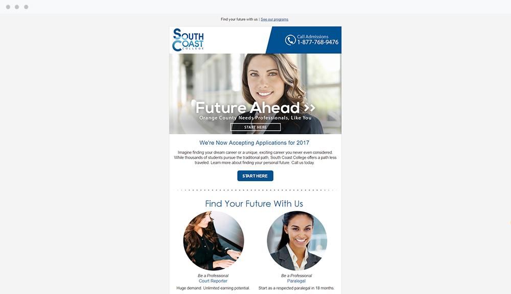 South Coast College (Orange, CA) -  View Email