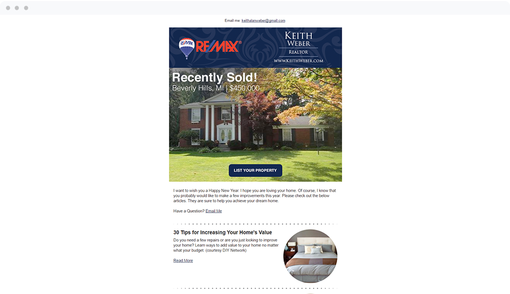 Keith Weber - RE/MAX Partners (Royal Oak, MI) -  View Email