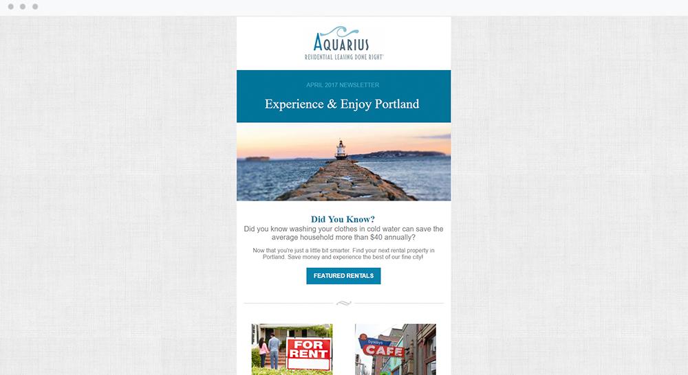 Aquarius Property Management, LLC (Portland, ME) -  View Email