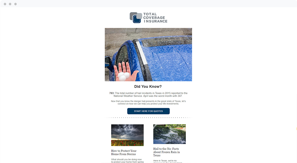 Total Coverage Insurance Services, LLC (Irving, TX) -  View Email