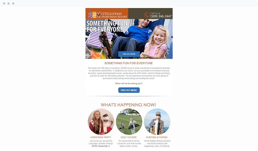 O'Sullivan Sportsman Resort (Othello, WA) -  View Email