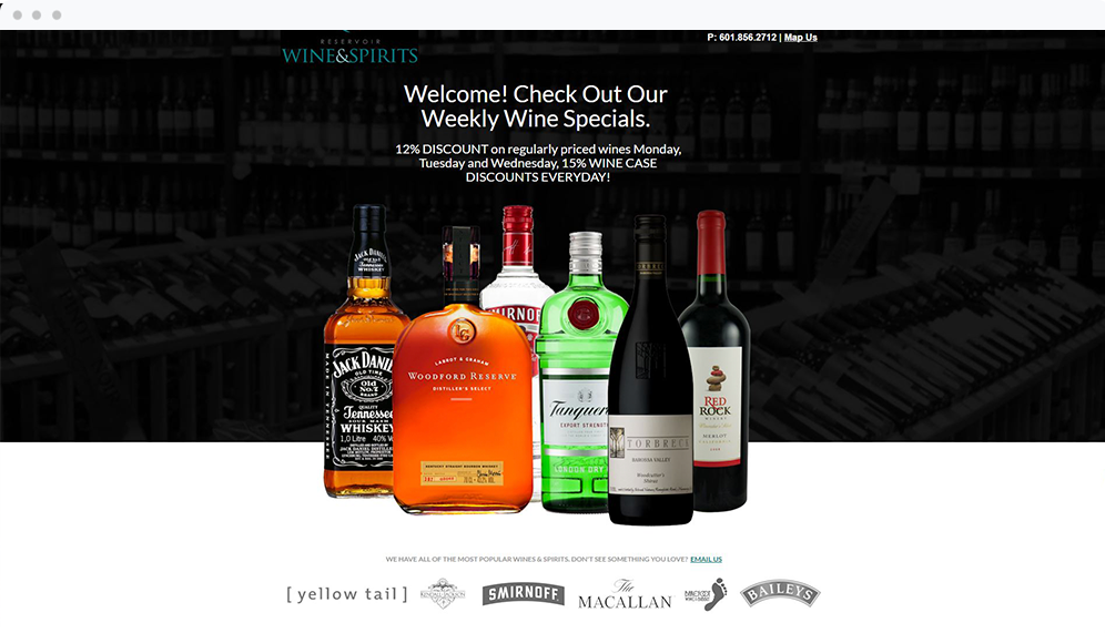 Reservoir Wine & Spirits (Ridgeland, MS)