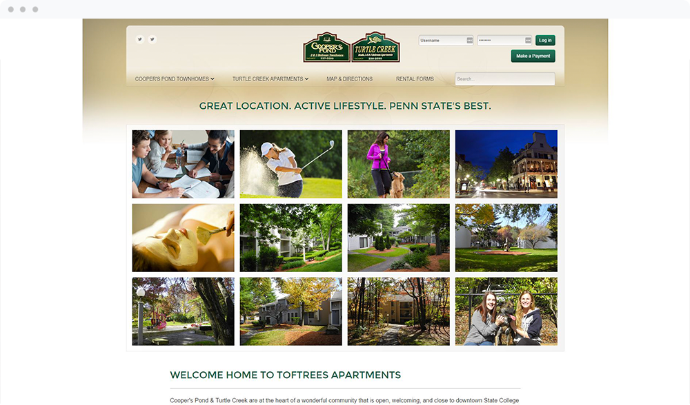 Toftrees Apartments - (State College, PA) -  View Website