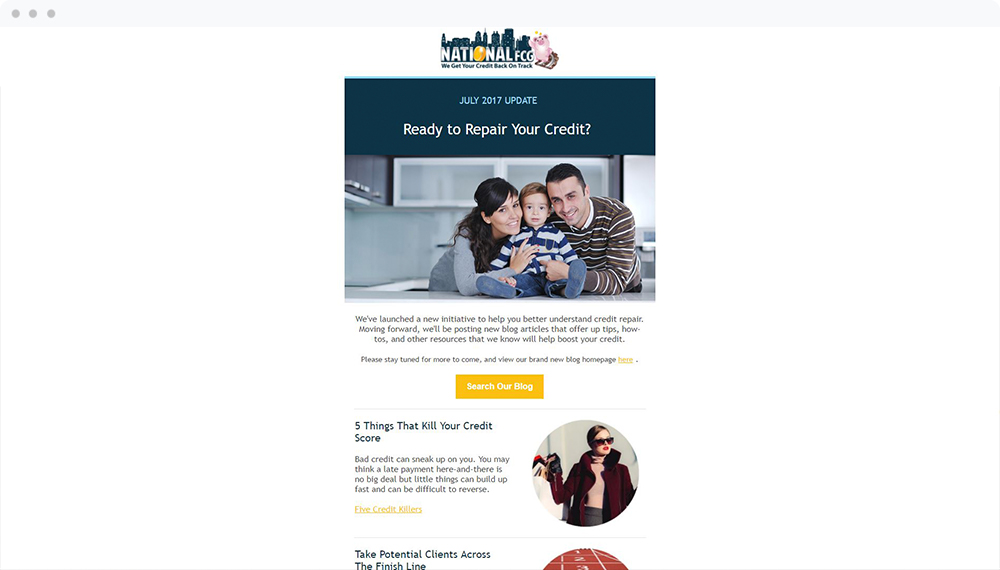 National Financial Credit Group (Braintree, MA) -  View Email