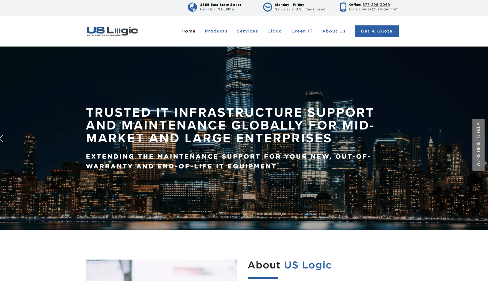 US Logic (Hamilton, NJ) -  View Website