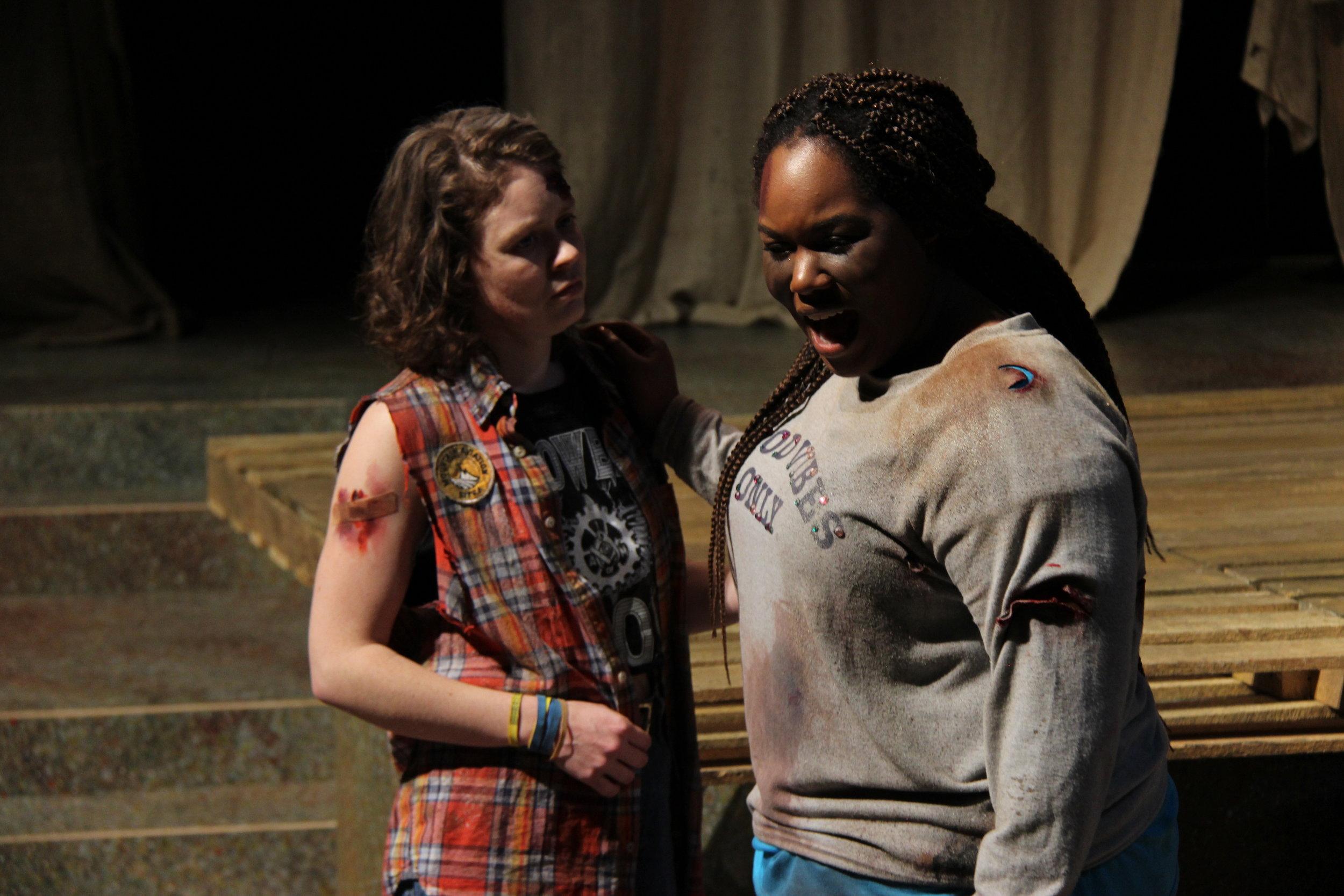 Allyson as Cassandra in TROJAN WOMEN: A LOVE STORY