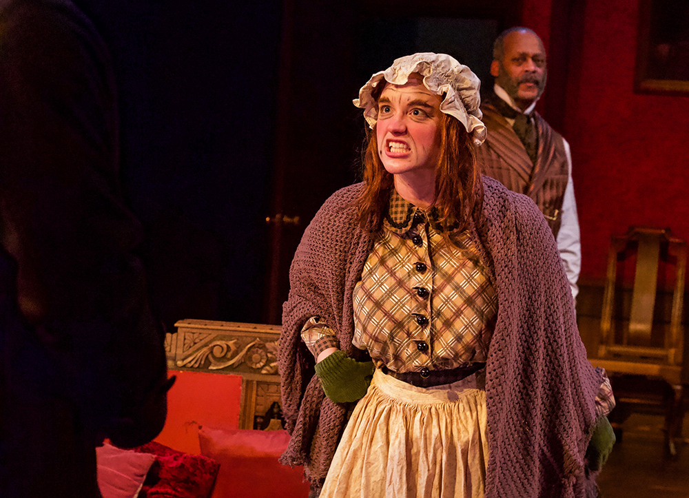 Alana as Mrs. Henderson in RUTHERFORD AND SON