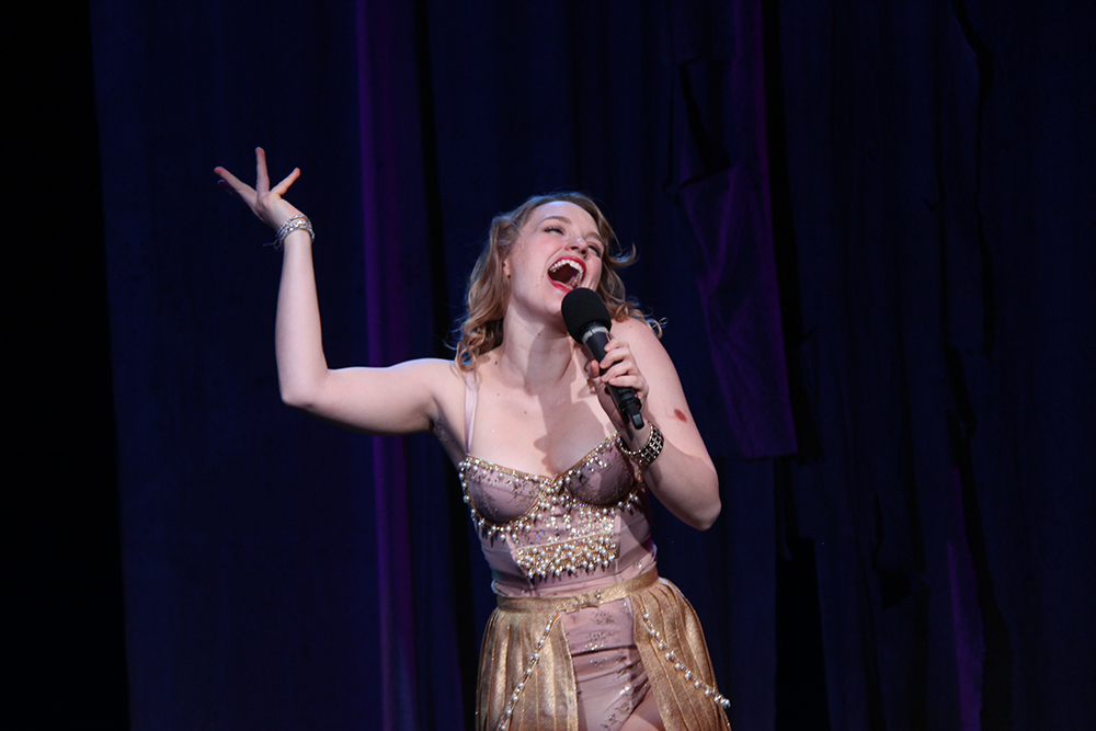 Alana as Helen in TROJAN WOMEN: A LOVE STORY