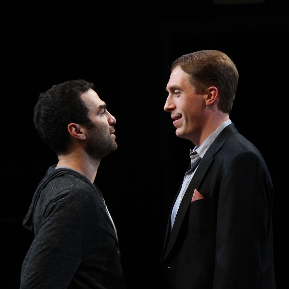 Phillip as John in COCK