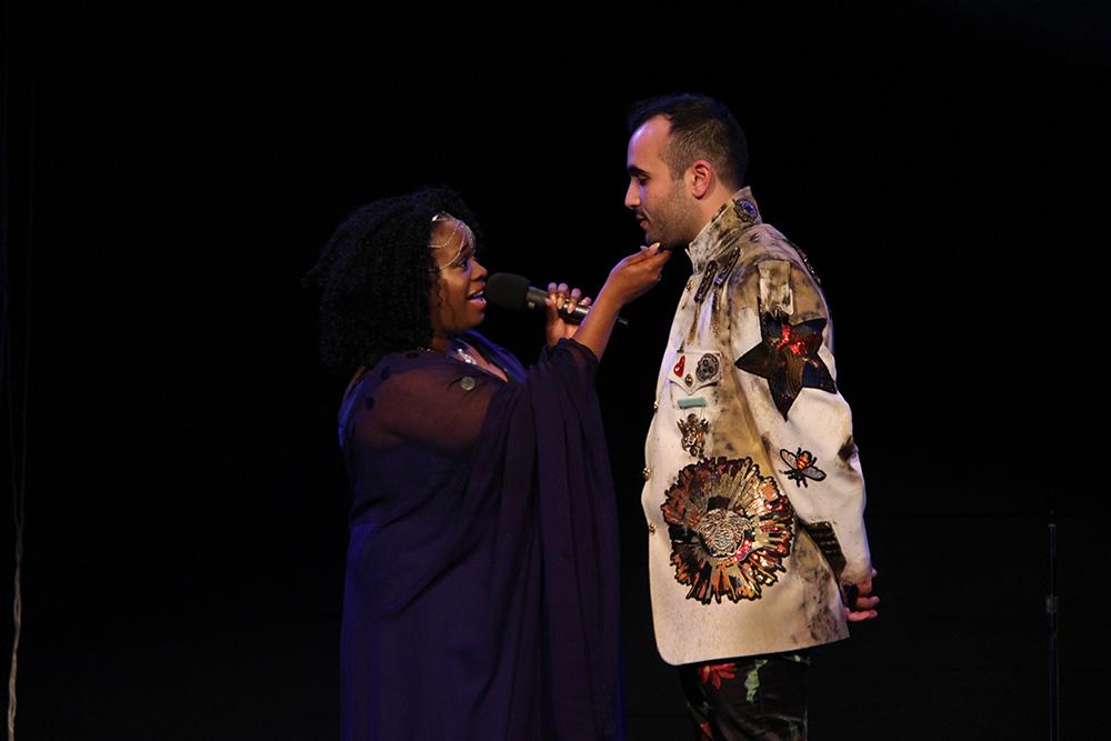 Adrian as Aeneas in TROJAN WOMEN: A LOVE STORY