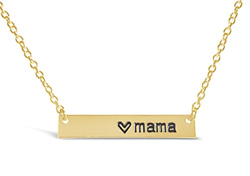 Jewelry - Let her bar necklace say it for her.