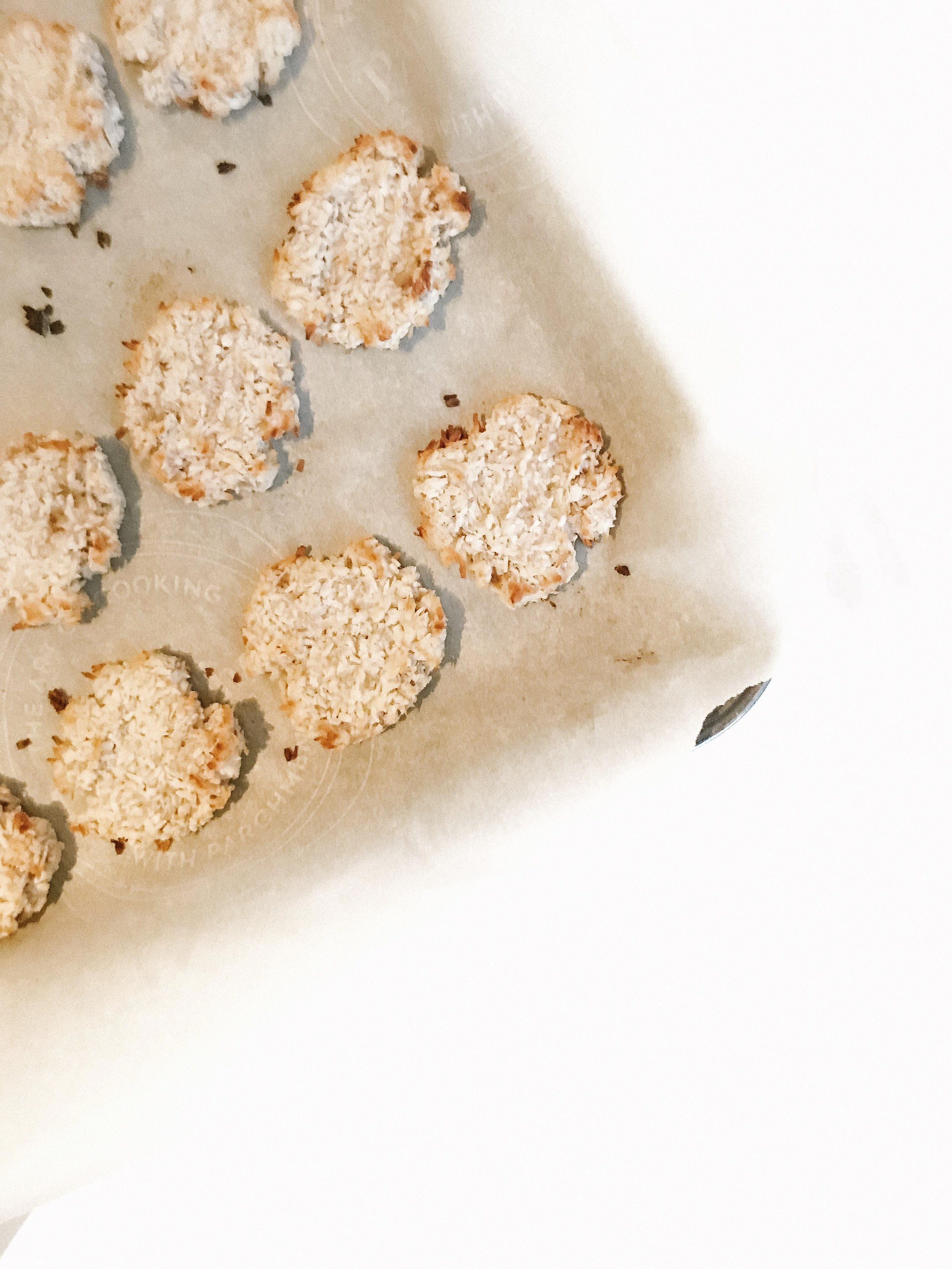 3 Ingredient Coconut Cookies (AIP, GAPS, Gluten-Free, Dairy-Free, Paleo Recipe)