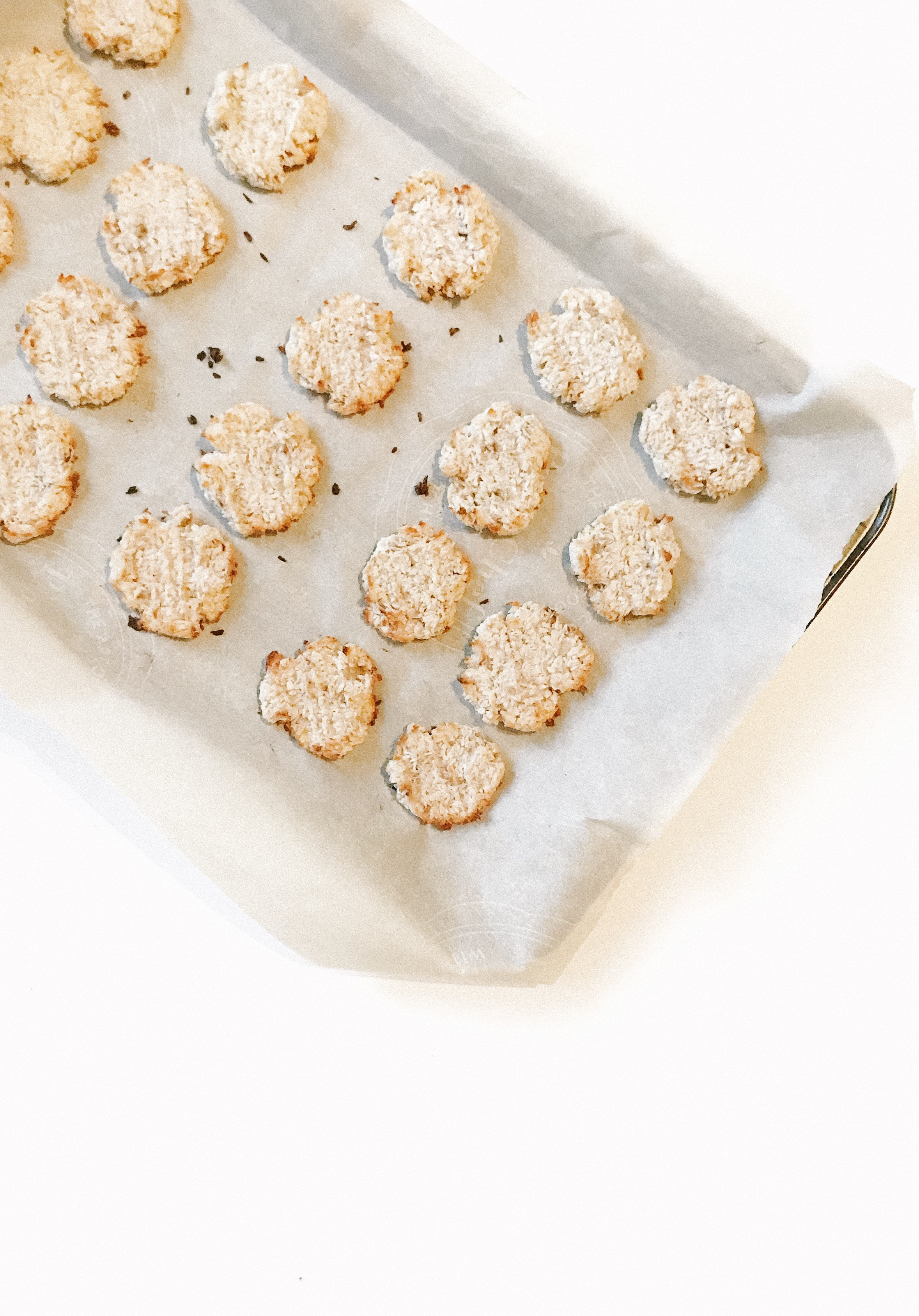 3 Ingredient Coconut Cookies (AIP, GAPS, Paleo, Gluten-Free, Dairy-Free, Egg-Free, Nut-Free) - This is a perfect snack recipe for anyone trying to stay healthy on-the-go! It is quick and easy! Kids can take them to school! You can throw them in your purse! They're the perfect craving buster that won't take you off of your healing protocol.