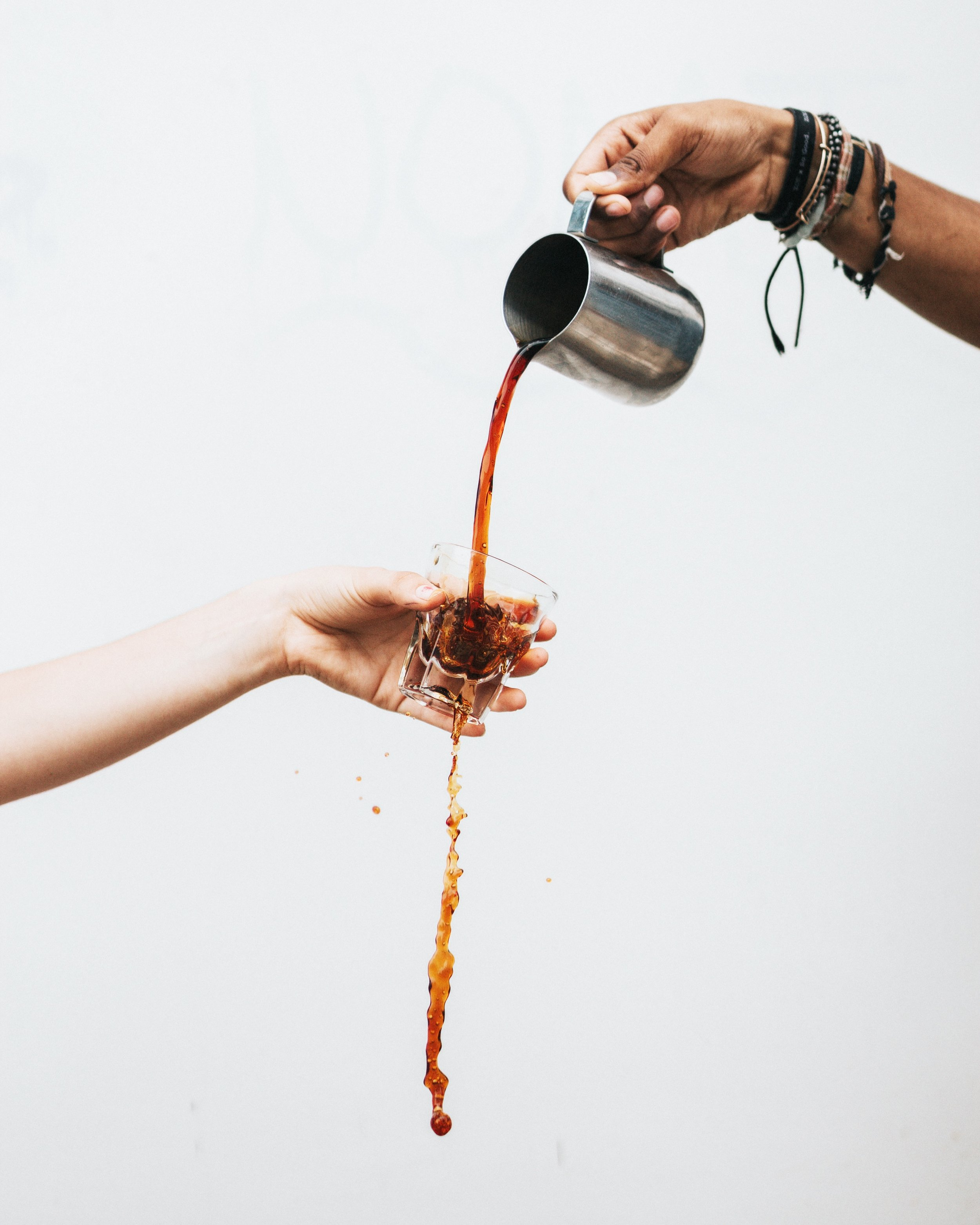 Coffee in Th2 dominant autoimmune diseases