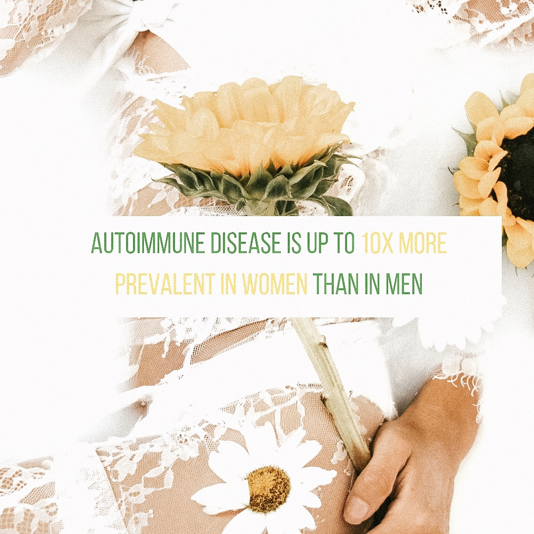 Autoimmmune Disease is up to 10x more prevalent in Women than in Men
