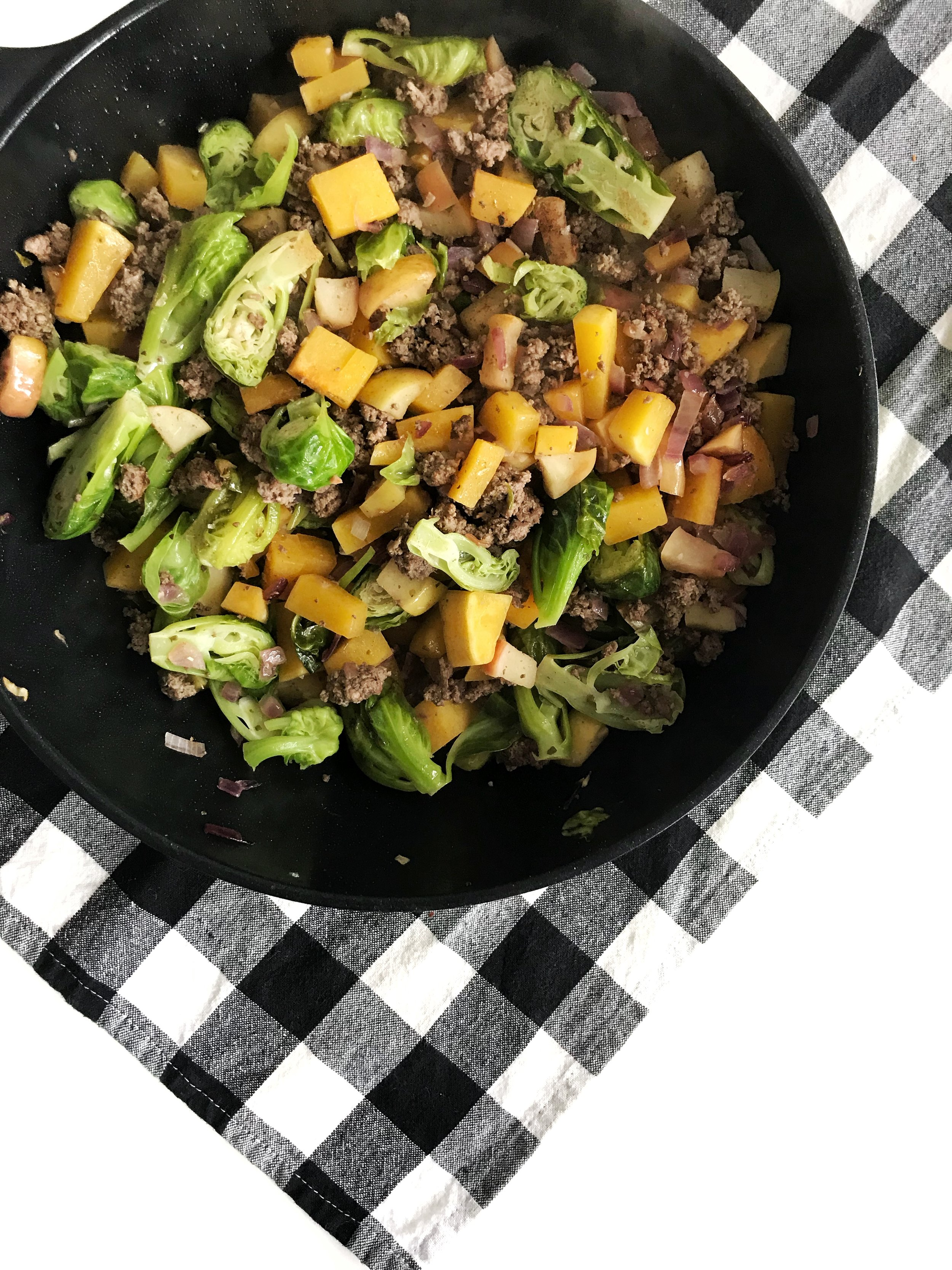 Apple & Butternut Breakfast Hash (AIP, GAPS, Paleo, Gluten-Free, Dairy-Free, Breakfast)