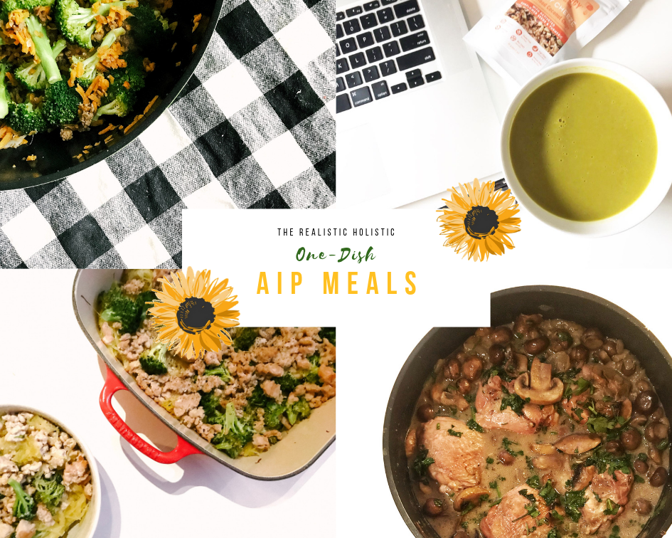 One-Dish AIP Meals (Paleo, Gluten-Free, Dairy-Free, Nut-Free, Nightshade-Free, Egg-Free) - Breakfasts, Lunches & Dinners