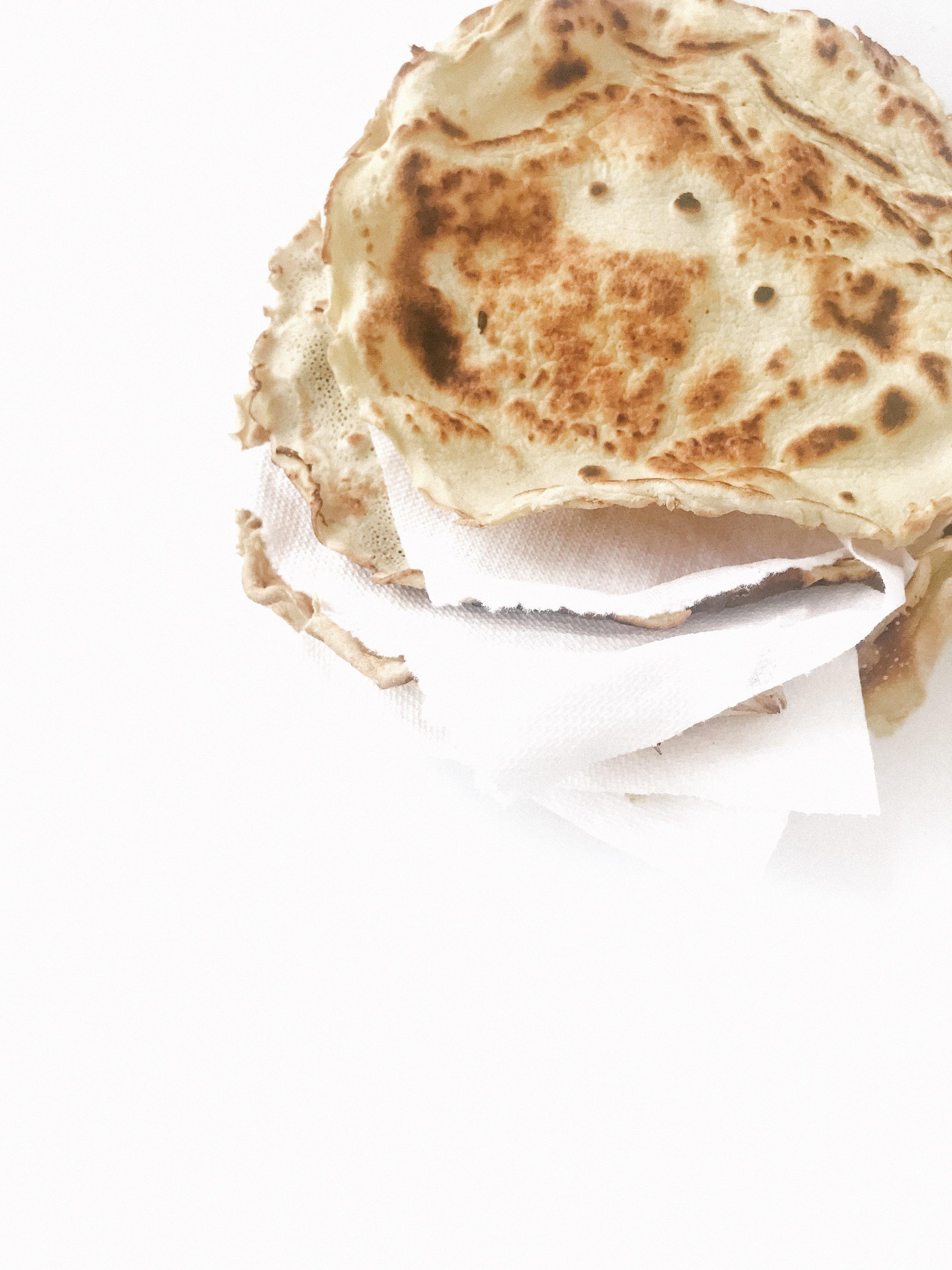Paleo Coconut Tortillas (GAPS, Paleo, GF, DF)