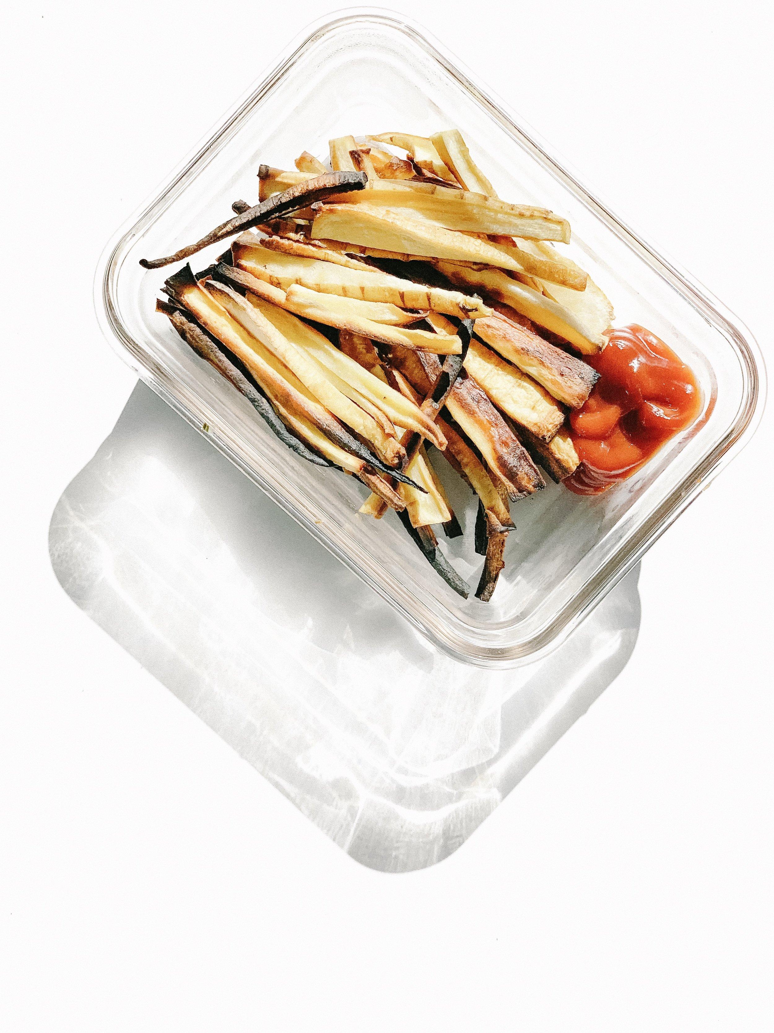 Paleo Parsnip Fries (AIP, Paleo, Gluten-Free, Dairy-Free)