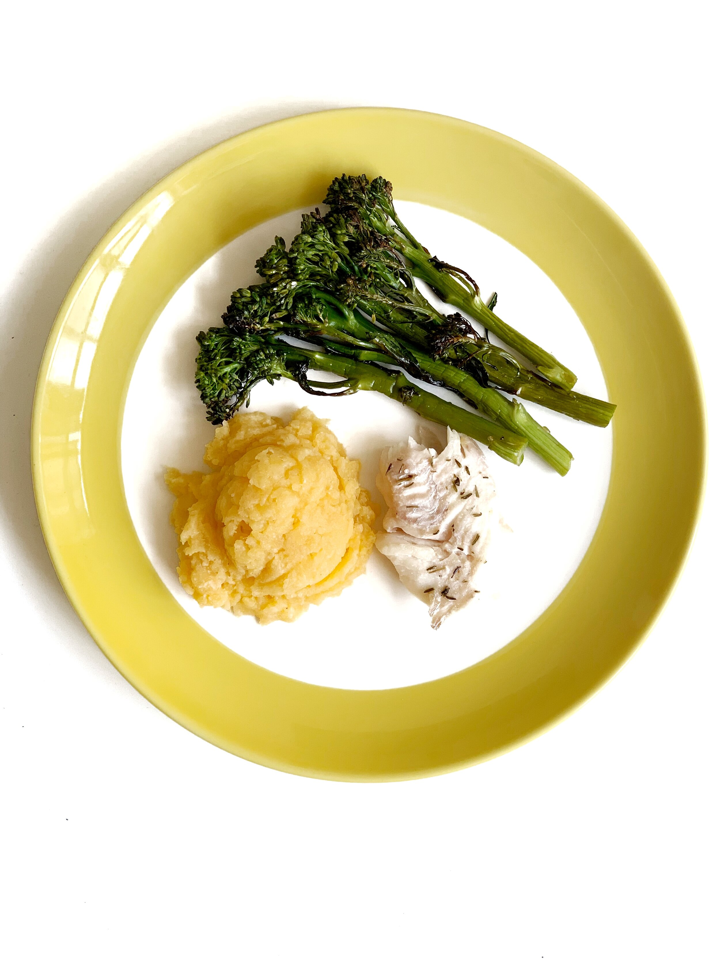 Crispy Thyme Haddock & Broccolini (AIP, GAPS, Gluten-Free, Dairy-Free, Paleo, Keto)