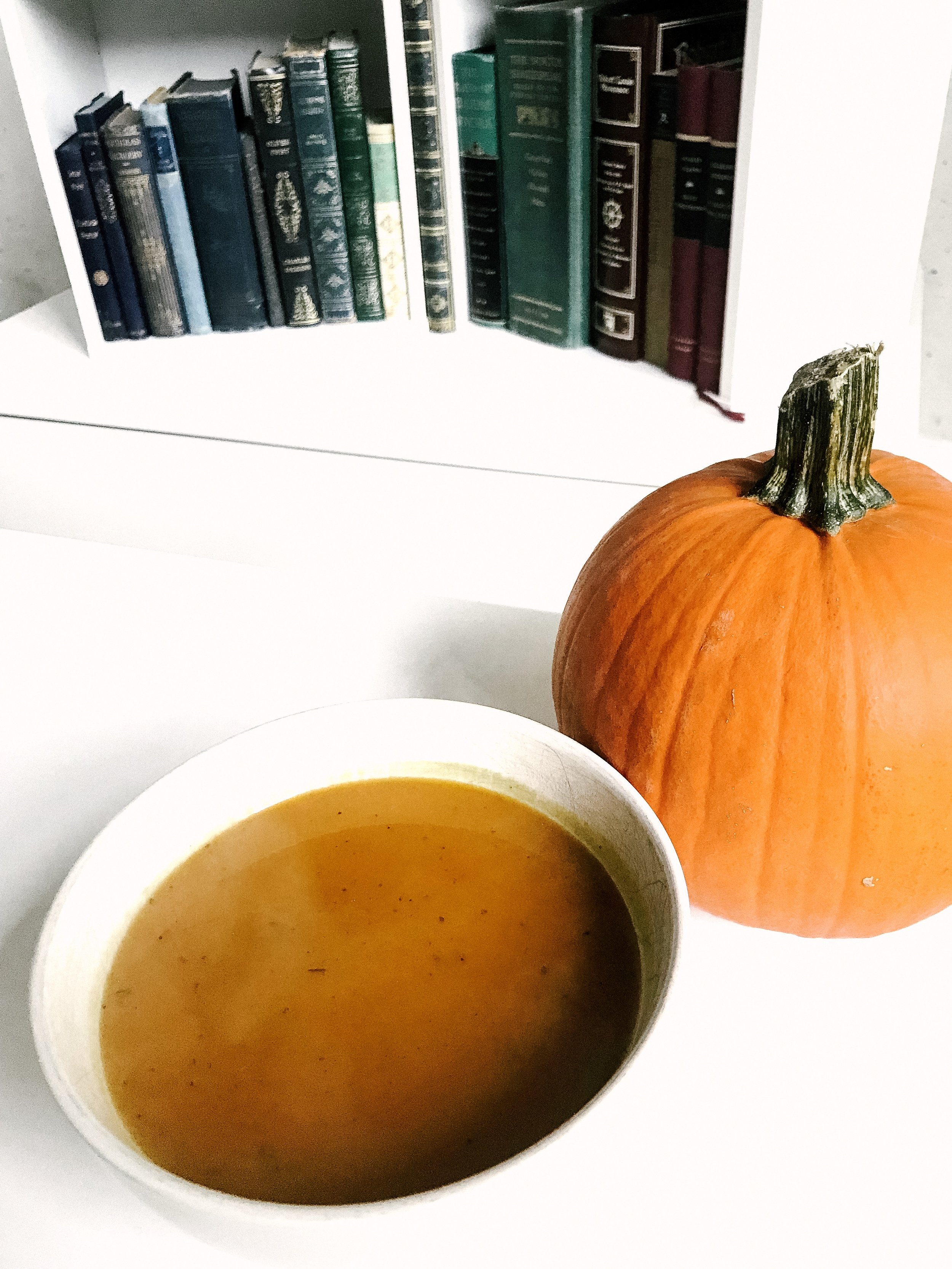 Pumpkin Soup for the Soup (AIP, GAPS, Gluten-Free, Dairy-Free)