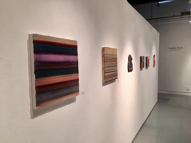 """Installation View of """"Smaller Works""""- February 2017"""