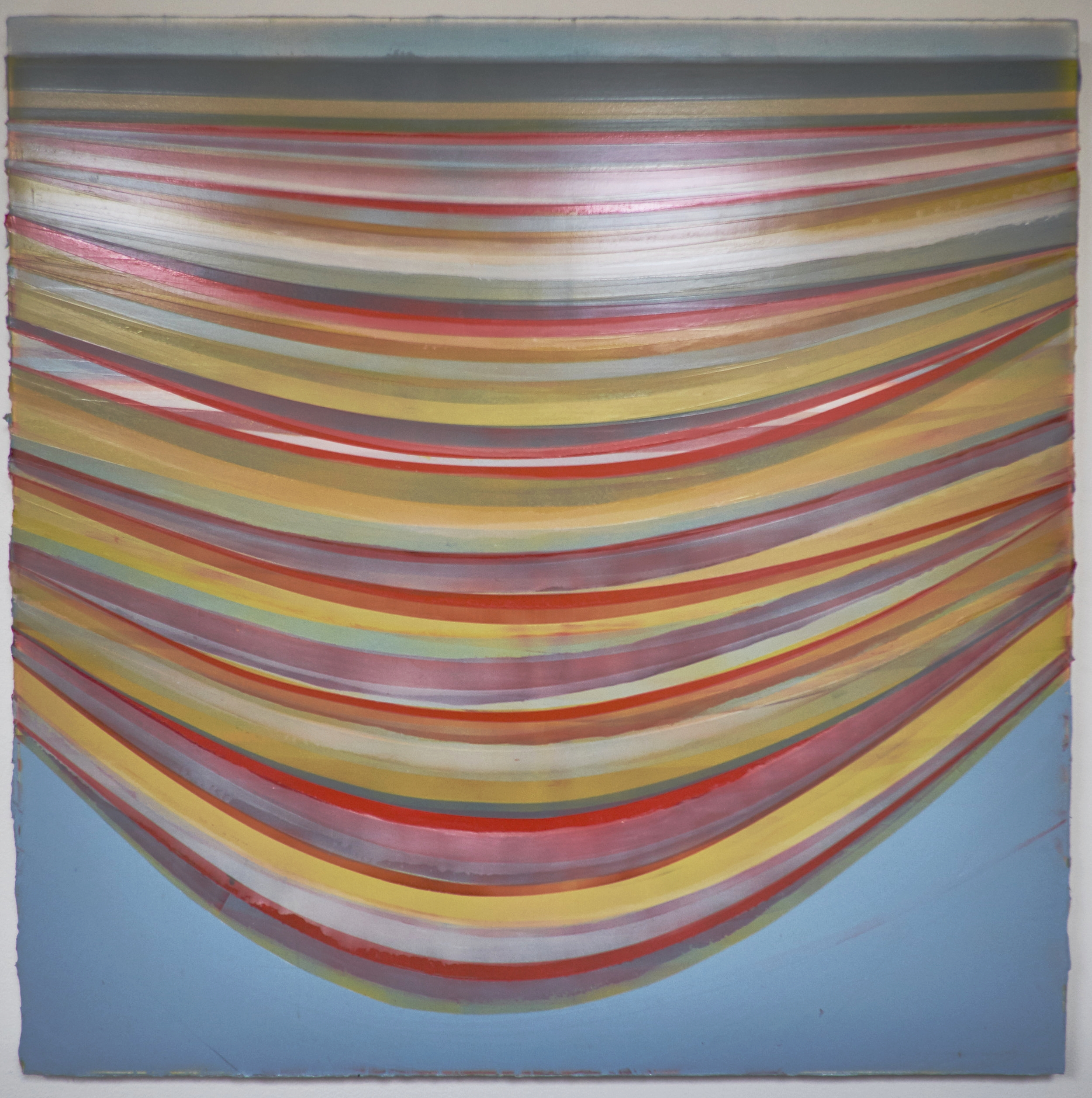 "UNTITLED #74 , 2009  ACRYLIC ON CANVAS, 48"" x 48"" (HAS964)"