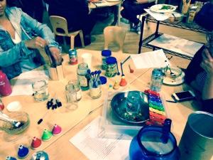 Jars Water Music Science Atelier