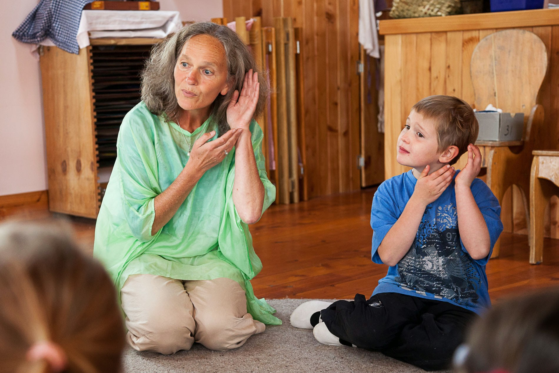 Waldorf schools believe that the experience of listening is imperative for children to develop before moving onto more formal music learning experiences.