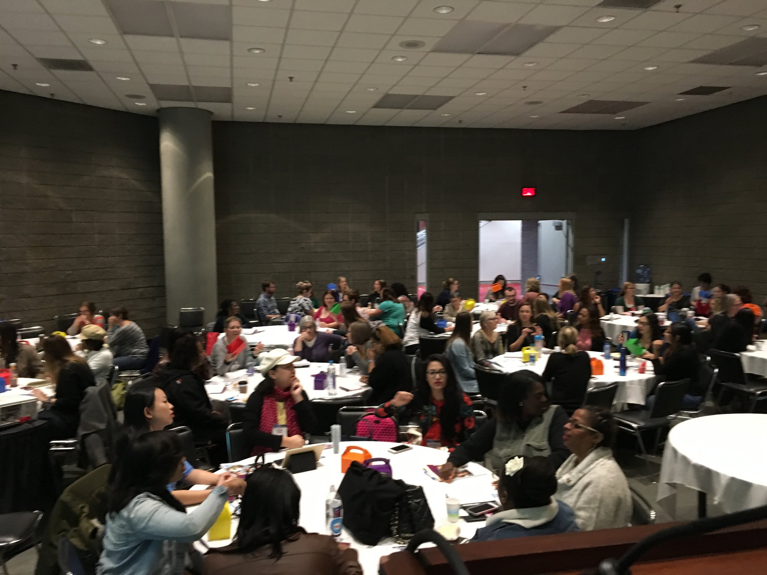 Over 80 early childhood professionals attended the session.