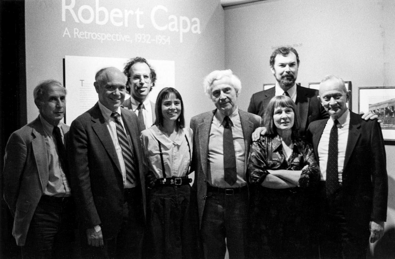 Letizia & Donna receive the 1986  W. Eugene Smith Grant