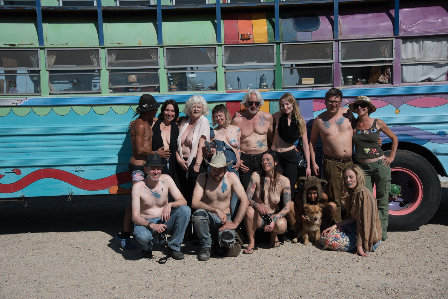 © Erotic Eye / Slab City. Ca.