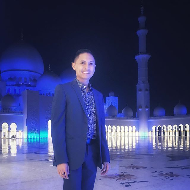 That one night in Abu Dhabi.