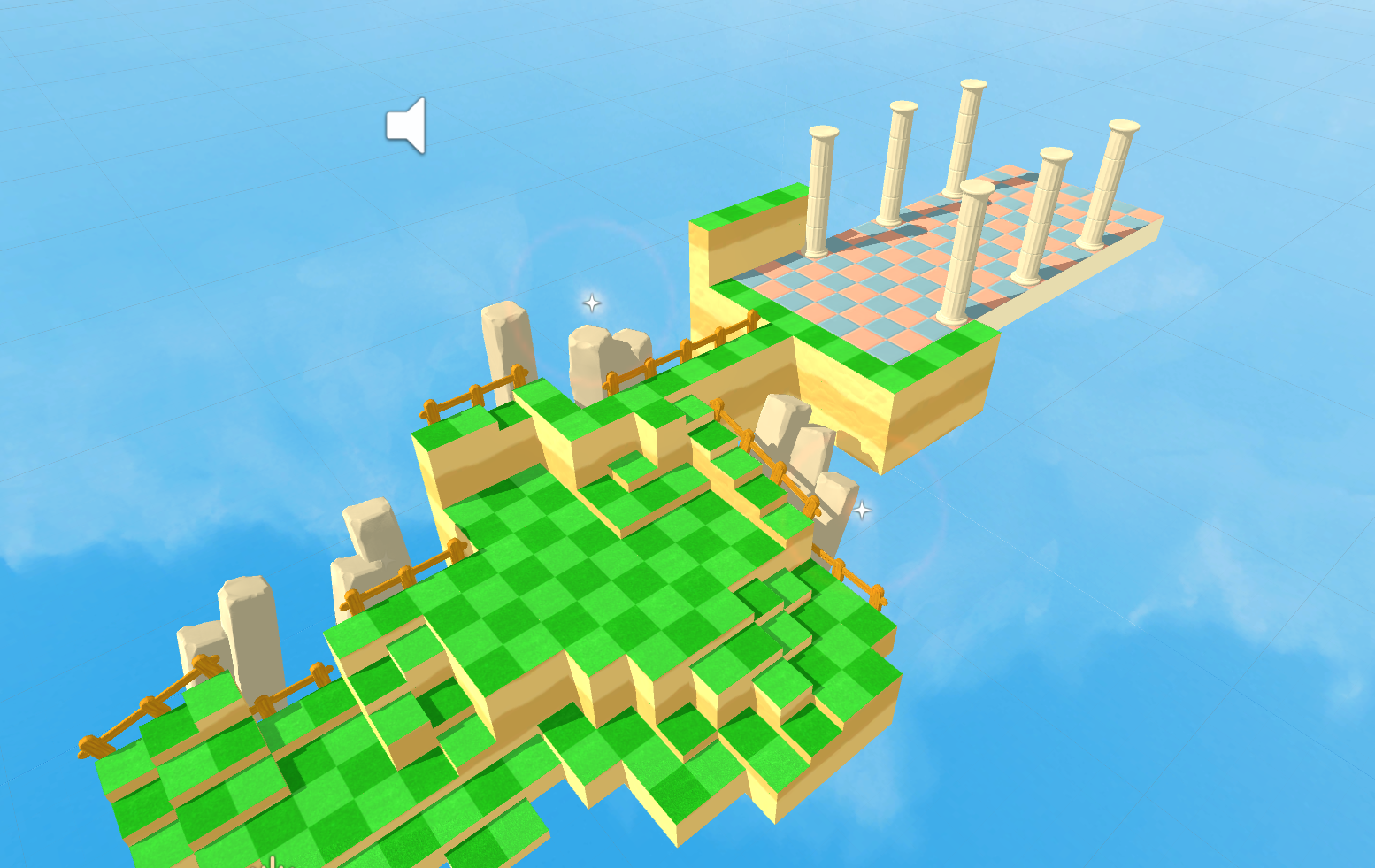 Copy of Mobile strategy game Unity3D scene