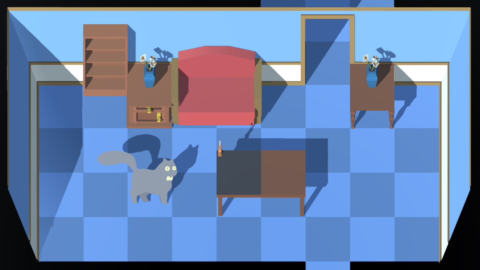 Cat puzzle game screenshot