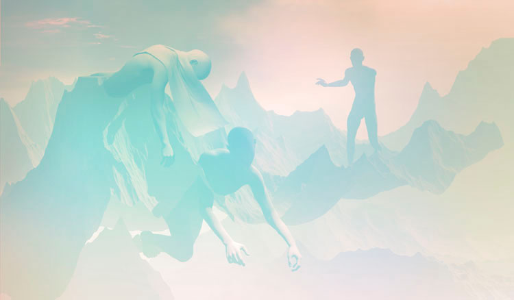 "Bodies Cast in Landscape | Framed Inkjet Print | 23.5"" x 40"" | 2010 - 2015"