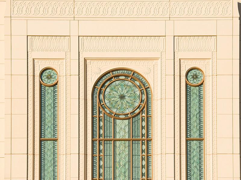 Holdman_Studios_Stained_Art_Glass_LDS_Mormon_Temple_Gilbert_Arizona_Agave_Plant_Exterior_Windows_Daytime.jpg