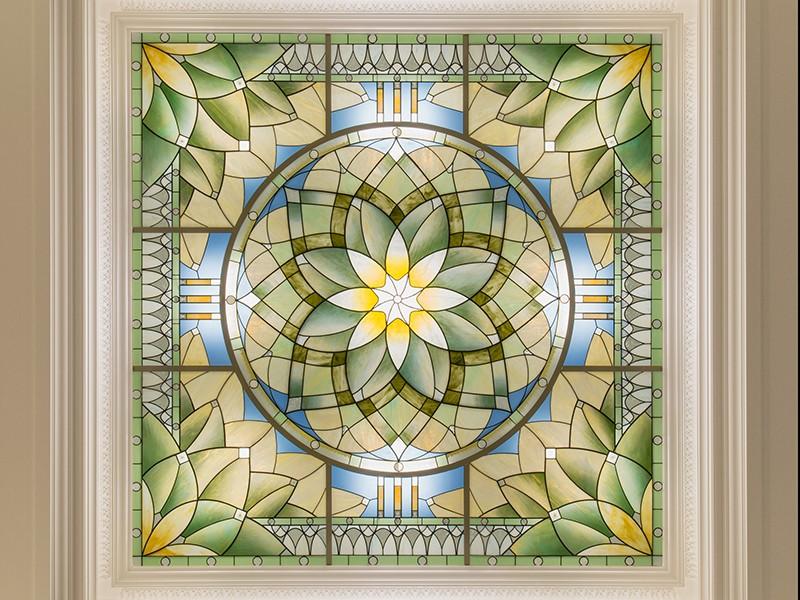 Holdman_Studios_Stained_Art_Glass_LDS_Mormon_Temple_Gilbert_Arizona_Agave_Plant_Marriage_WaitingRoom__Skylight.jpg